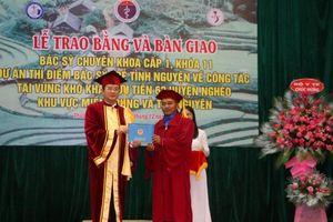 33 bác sĩ trẻ tốt nghiệp ĐH Y Dược Huế tình nguyện về vùng khó khăn
