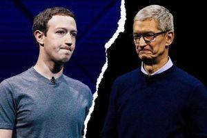 Cuộc chiến giữa Facebook và Apple ngày càng leo thang căng thẳng