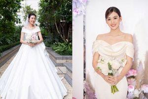 Sao Việt chuộng váy cưới tối giản năm 2020