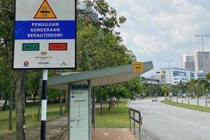 Malaysia mở tuyến đường đầu tiên dành riêng cho xe tự lái