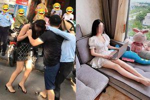 'Tiểu tam' vụ đánh ghen phố Lý Nam Đế bất ngờ trở thành người mẫu chuyên nghiệp