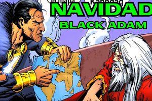 Vũ trụ DC: Black Adam từng... đấm nhau với ông già Noel để đòi quà