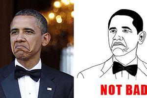 Những người nổi tiếng bỗng thành đề tài chế ảnh trên Internet, đến Tổng thống Mỹ cũng không ngoại lệ