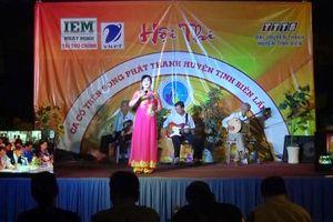 Hội thi ca cổ trên sóng phát thanh huyện Tịnh Biên lần thứ IV năm 2020