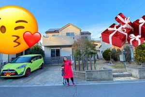 Sau hơn 2 năm làm YouTuber, Quỳnh Trần JP đã mua nhà mới cực hoành tráng ở Nhật