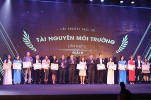 Báo điện tử Đảng Cộng sản Việt Nam đạt giải B Giải thưởng Báo chí Tài nguyên và Môi trường