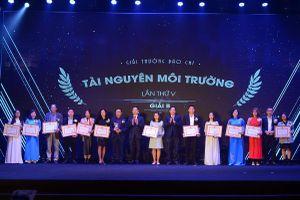 Báo Kinh tế & Đô thị đạt giải B giải thưởng Báo chí tài nguyên và môi trường lần thứ V