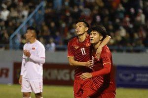 Tái đấu trên sân Việt Trì: U22 có lội ngược dòng đánh bại ĐTQG?