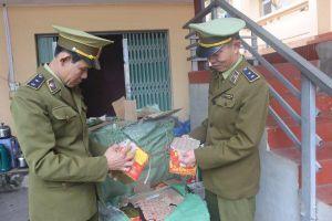 Thu giữ 400kg pháo nổ tại Lạng Sơn