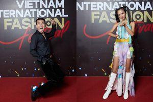 Dàn rapper Việt đổ bộ show thời trang, 'lão đại' Wowy, 'chị đại' Suboi lên đồ cực ngầu