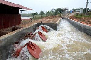 Ngành thủy lợi góp phần tích cực thúc đẩy sản xuất nông nghiệp phát triển