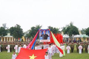 Nghệ An: Hơn 600 học sinh tham gia Hội thao Giáo dục Quốc phòng và an ninh