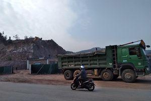 Doanh nghiệp tự ý mở đường khai thác khoáng sản ở Bắc Giang