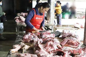 Đảm bảo nguồn thịt chất lượng cho thị trường Hà Tĩnh cuối năm