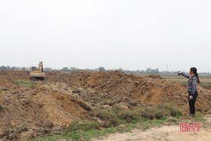 Xã đầu tiên ở Can Lộc chuyển đổi thành công hơn 500 ha đất nông nghiệp