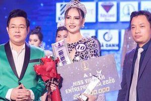 Cuộc thi Hoa hậu Doanh nhân có dấu hiệu lừa đảo: Cục NTBD nói gì?