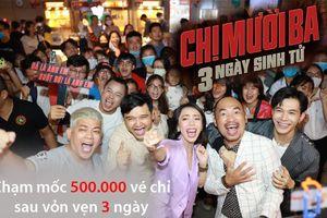 Sau '3 ngày sinh tử', Thu Trang đại thắng khi 'Chị Mười Ba' cán mốc 500.000 vé, gần chạm mốc 50 tỷ đồng?