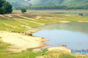 Nan giải khắc phục bồi lấp lòng hồ chứa nước