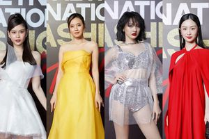 Top 10 mỹ nhân thảm đỏ Lễ hội Thời trang: Bảo Anh mặc đồ xuyên thấu 'một mình một kiểu'