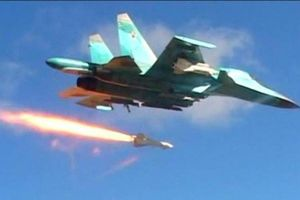 Chiến đấu cơ Nga dội bom ác liệt dọc biên giới Syria-Thổ Nhĩ Kỳ
