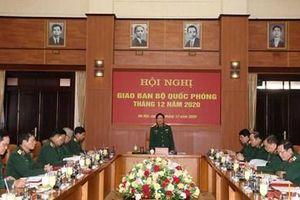Bộ Quốc phòng triển khai nhiệm vụ tháng 1 năm 2021