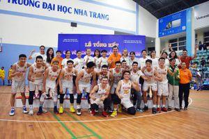 TP Hồ Chí Minh giành HCV nội dung nam giải bóng rổ VĐQG 2020