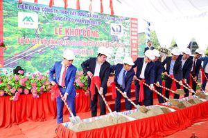 Khởi công nút giao nối cao tốc Nội Bài - Lào Cai với thị trấn Phố Lu và KCN Tằng Loỏng