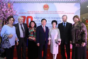 Các sự kiện nổi bật trong quan hệ Việt Nam - Nga năm 2020