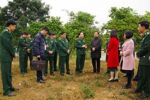 Khảo sát tổ chức Ngày hội Biên phòng toàn dân điểm khu vực phía Bắc tại tỉnh Điện Biên năm 2021