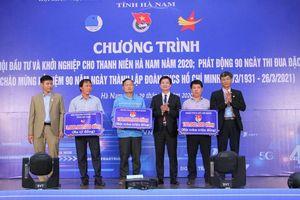 Hà Nam hỗ trợ 3,2 tỉ đồng cho thanh niên khởi nghiệp