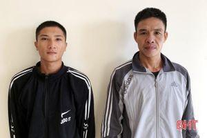 2 đối tượng ở Hà Tĩnh bị bắt khi giấu ma túy trong người