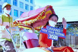 Đà Nẵng: Diễu hành xích lô du lịch 'Chào Năm mới 2021'