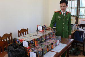 Quảng Bình: Phá 2 chuyên án, thu giữ một số lượng pháo 'khủng'