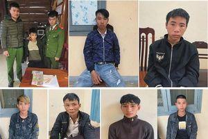 Quảng Bình: Phá chuyên án bí số '121M', bắt giữ 7 đối tượng