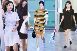 5 kiểu váy giúp Jennie 'ăn gian' được cả chục centimet chiều cao