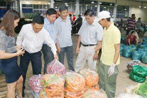 Nâng tầm chợ đầu mối nông sản thực phẩm Dầu Giây