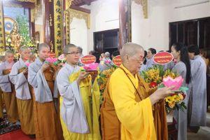 Chùa Phổ Hiền tổ chức lễ vía Phật A Di Đà
