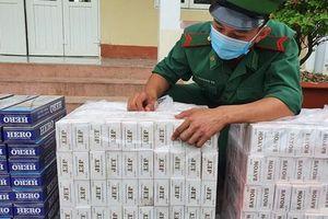 Kiên Giang: Thu giữ 3.000 gói thuốc lá ngoại nhập lậu
