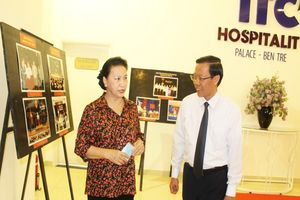Chủ tịch QH dự họp mặt 75 năm Tổng tuyển cử đầu tiên ở Bến Tre