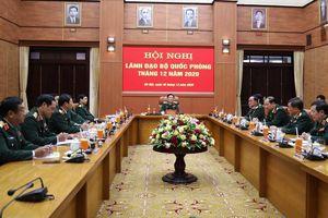 Bộ Quốc phòng: Tập trung bảo vệ an ninh, an toàn dịp Tết Dương lịch, Đại hội XIII của Đảng