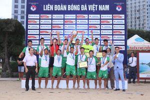 Đà Nẵng vô địch Giải bóng đá Bãi biển VĐQG 2020
