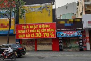 Khách thuê mặt bằng muốn được giảm giá tới 40%
