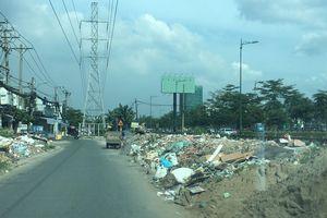 Ô nhiễm từ những bãi kinh doanh xà bần tự phát