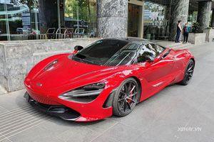 Ngắm siêu xe McLaren 720S hơn 23 tỷ, màu độc nhất Việt Nam