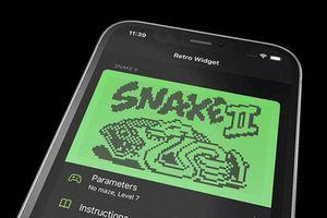 iOS 14 tái hiện game huyền thoại 'rắn săn mồi' trên iPhone và Apple Watch