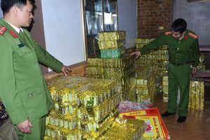 Hà Tĩnh: Thu giữ 600kg trà xanh 'đội lốt' Tân Cương Thái Nguyên