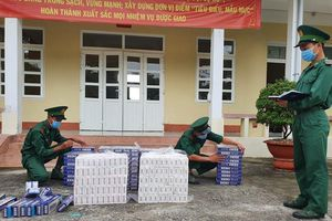 BĐBP Kiên Giang thu giữ 3.000 gói thuốc lá ngoại nhập lậu