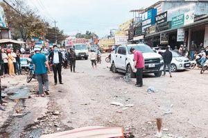 Xe tải tông hàng loạt ô tô, xe máy, 2 cô gái tử vong tại chỗ