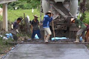 'Hô biến' tro xỉ của Nhiệt điện Na Dương thành đường giao thông