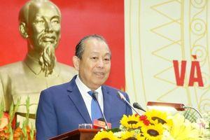 Phó Thủ tướng Trương Hòa Bình: Tiếp tục kiện toàn, sắp xếp, tinh gọn tổ chức bộ máy hành chính nhà nước